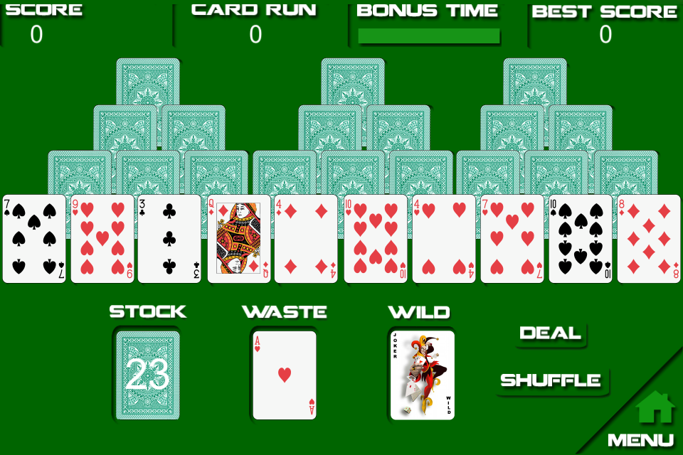 Screenshot Solitaire Free V1